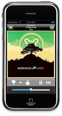 Pandora iPhone