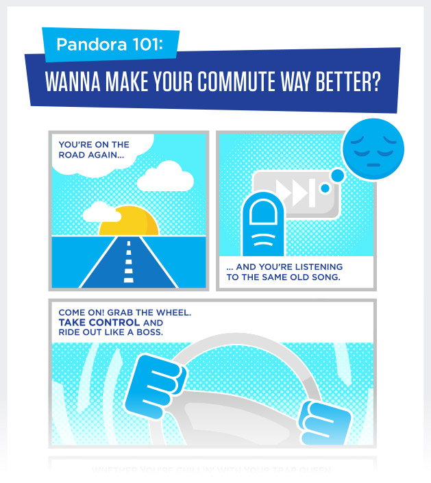 Pandora 101: Wanna make your commute way better?